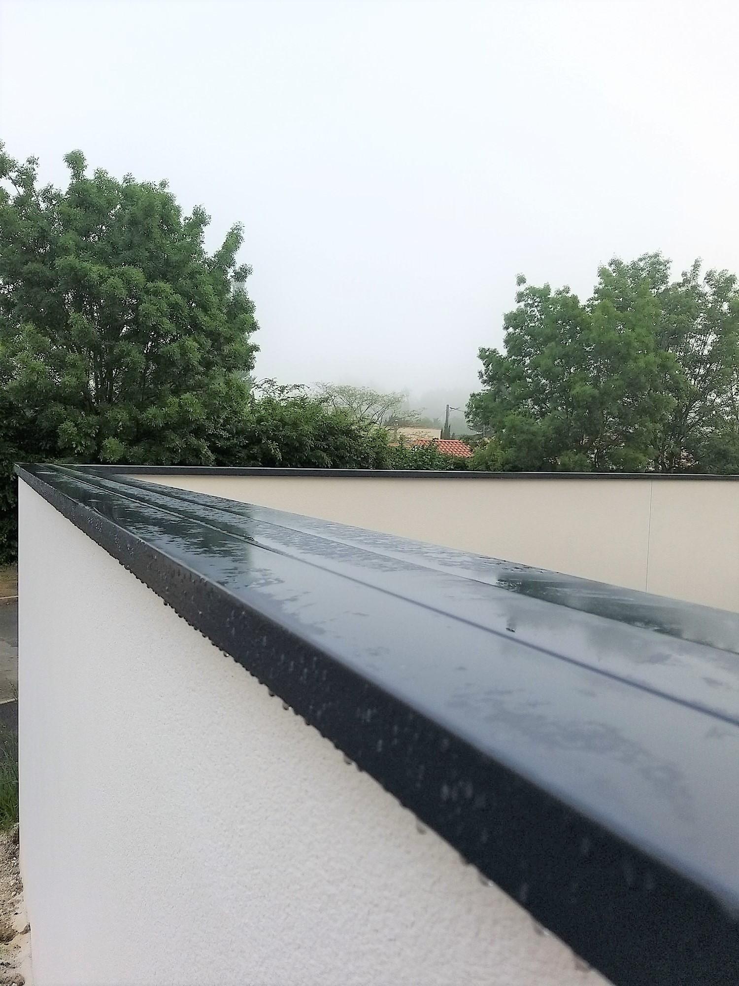Pose de couvertine à Niort, Poitiers, La Rochelle, Fontenay Le Comte