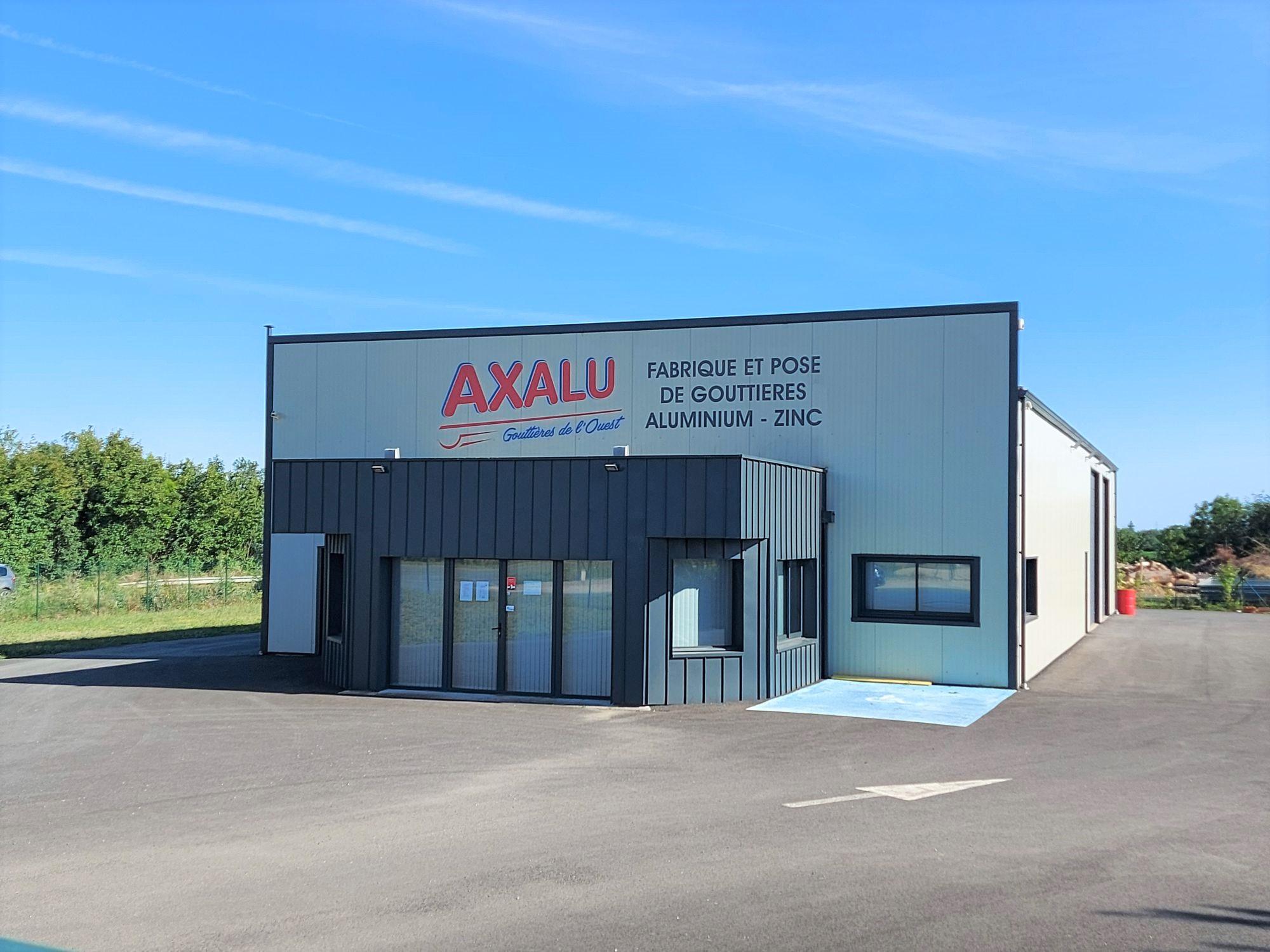 AXALU - Fabricant de gouttières à Niort