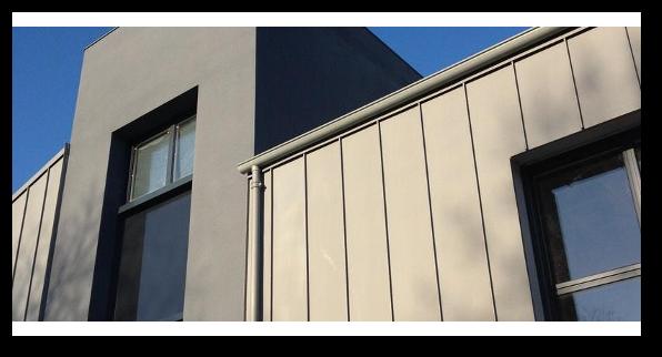 Pose de bardage zinc à Poitiers, La Rochelle & Niort