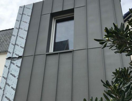 Bardage de façade en zinc : quels avantages pour une maison d'habitation